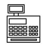 lokalisiertes Ikonendesign der Registrierkasse Lizenzfreie Stockfotos