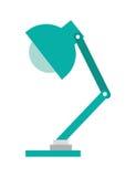 lokalisiertes Ikonendesign des Büros Lampe Stockbilder