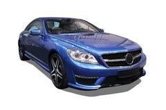 Lokalisiertes modernes Auto, Mercedes-CL AMG Lizenzfreie Stockfotografie
