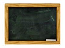 Lokalisiertes schwarzes Brett lizenzfreie stockbilder