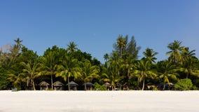 Lokalna chałupa w plaży Fotografia Stock