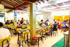 Lokalna restauracja w Seul korei południowej fotografia royalty free