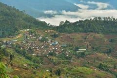 Lokalna Tajlandzka plemię wioska Fotografia Stock