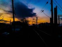 Lokalne chmury zdjęcia stock