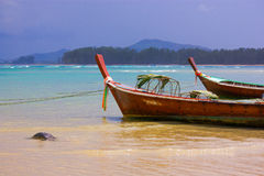 Lokalne łodzie obraz royalty free