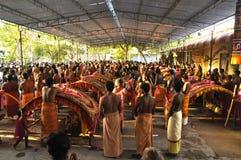 Lokalny festvel w bhavani przy tamilnadu zdjęcia royalty free