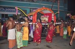 Lokalny festvel w bhavani przy tamilnadu obraz stock
