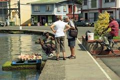 Lokalny handel przy st Grenada, Karaiby Fotografia Stock