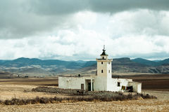 Lokalny pobocze meczet blisko Mrirt, Khenifra prowincja, Maroko Obraz Stock