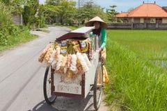 Lokalny sprzedawca uliczny Zdjęcia Stock