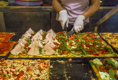 Lokalny Włoski pizzeria Fotografia Royalty Free