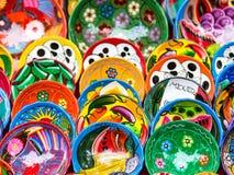 Lokalt informellt shoppar inom den Chichen Itza arvplatsen nära vid Cancun i Mexico Royaltyfri Bild