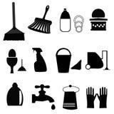 Lokalvårdsymboler royaltyfri illustrationer