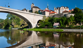 Loket ÃÂ ¡ astle το καλοκαίρι, Δημοκρατία της Τσεχίας Στοκ φωτογραφία με δικαίωμα ελεύθερης χρήσης