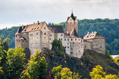 Loket castle, Czech Republic. Stock Photography