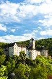 Loket Castle. In Czech Republic Royalty Free Stock Images