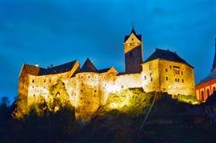 Loket Castle, Czech Republic Stock Photo