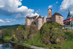 Loket Castle, Czech Republic stock image