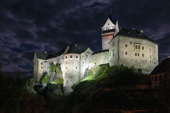 Loket Castle, Czech republic Stock Photo