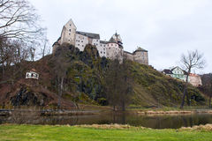 Loket castle and fortification Czech Republic Royalty Free Stock Photography
