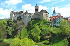 Loket castle Royalty Free Stock Images