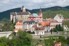 Loket, Czech republic Stock Photography