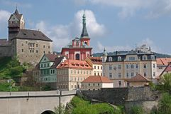 Loket, Czech republic Stock Photos