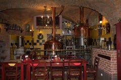 loket czeska republika Rodinny Pivovar Svaty Florian restauracja Fotografia Stock