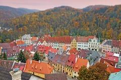 Loket near by Karlovy Vary , Czech Republic Stock Images