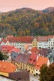 Loket near by Karlovy Vary , Czech Republic Royalty Free Stock Photos