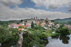 Loket, panorama view Royalty Free Stock Image