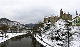 Loket Schloss in Czechia Lizenzfreie Stockfotografie