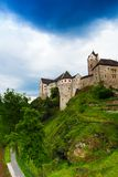 Loket town castle wall and fortification Royalty Free Stock Image