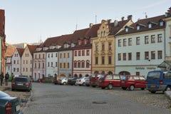 Loket town, Czech republic stock photography