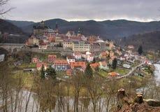 Loket town panorama Stock Photo