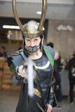 Loki cosplayer. Royalty Free Stock Photography