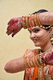 Loking através da janela - Índia Fotos de Stock Royalty Free