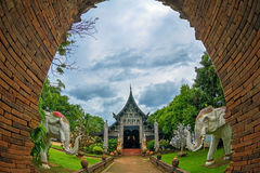Lokmolee temple in chiang mai Stock Images