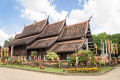 Lokmolee Temple. In Chiang Mai Thailand Stock Image