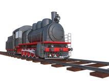 Lokomotiv stock illustrationer