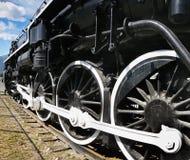 Lokomotiv för ångamotor Royaltyfria Foton