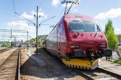 lokomotiv för 18 el Arkivfoto