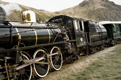 Lokomotiv för gammal skola Royaltyfri Fotografi