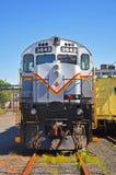 Lokomotiv för Lackawanna järnvägdiesel, Scranton, PA, USA fotografering för bildbyråer