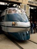 Lokomotiv FS ETR 400 royaltyfria bilder