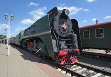 Lokomotiv P36-0001 Royaltyfri Bild