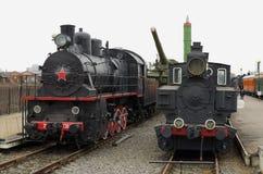 Lokomotiv som ett historiskt värde Arkivbilder