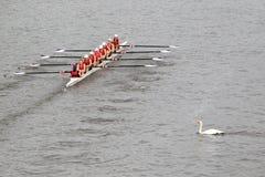 Lokomotiva Beroun - 100th гонка rowing Primatorky Стоковое Изображение