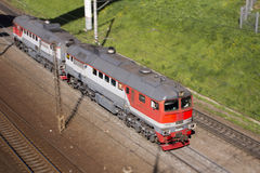 lokomotive stockfoto