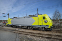 Lokomotive 119 010-6, Alpha Trains Stockfotos